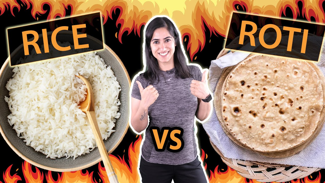 Roti vs Rice- What I Eat for Weight Loss? | By GunjanShouts