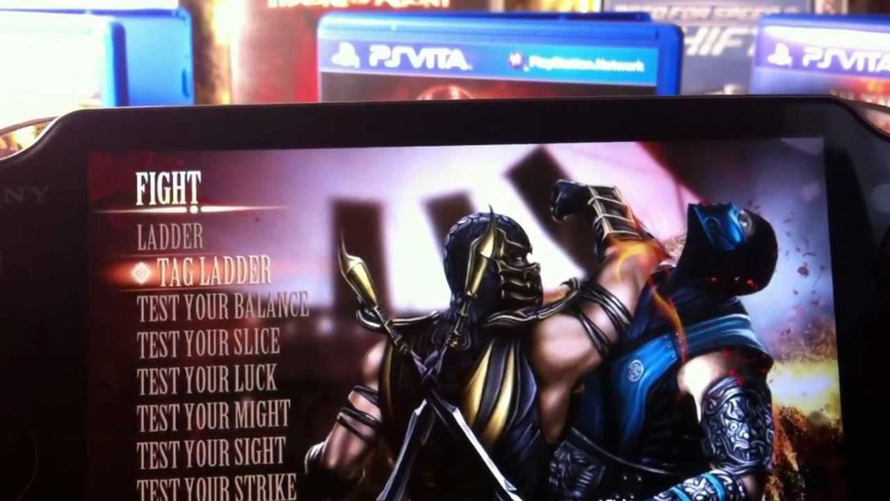 Обзор Mortal Kombat для PS Vita