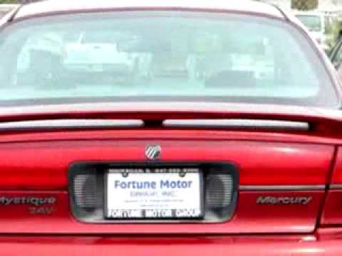 1998 mercury mystique ls fortune motors waukegan il 60085