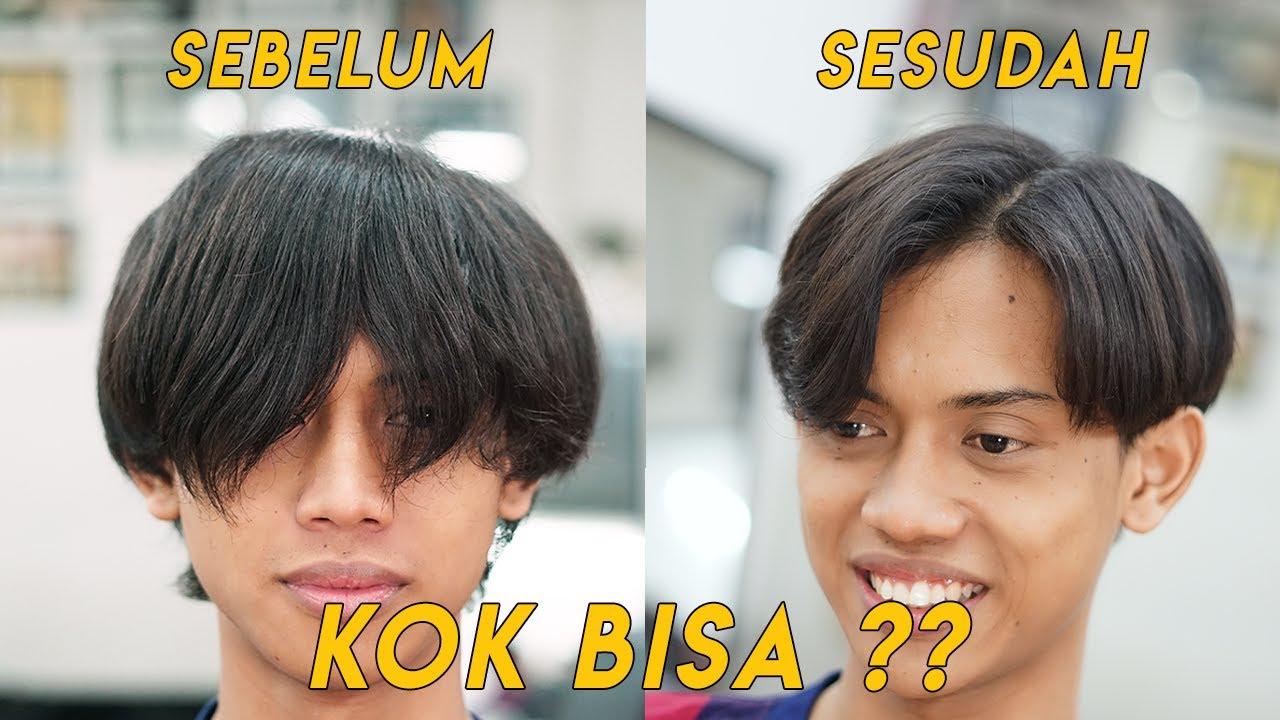 Cukur Rambut Ala Kpop Korean Hairstyle Tutorial Youtube Korean Hairstyle Hair Tutorial Hairstyle