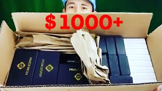 OMG! FREE HUGE BOX of Fidget Spinners (Noble Spin) + 3 Giveaway Winners Announced!