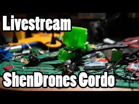 Livestream // Q&A and Live Drone Build // ShenDrones Gordo