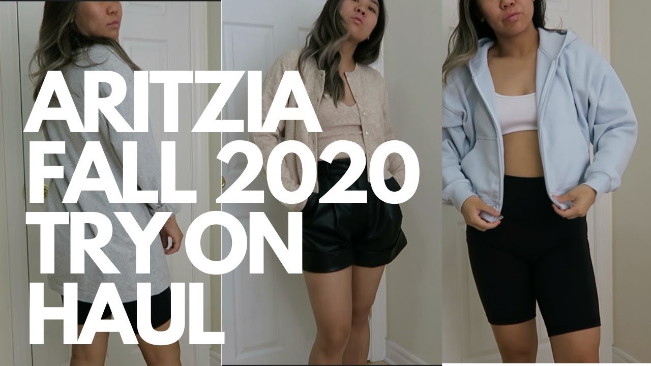 ARITZIA TRY ON FALL 2020 HAUL