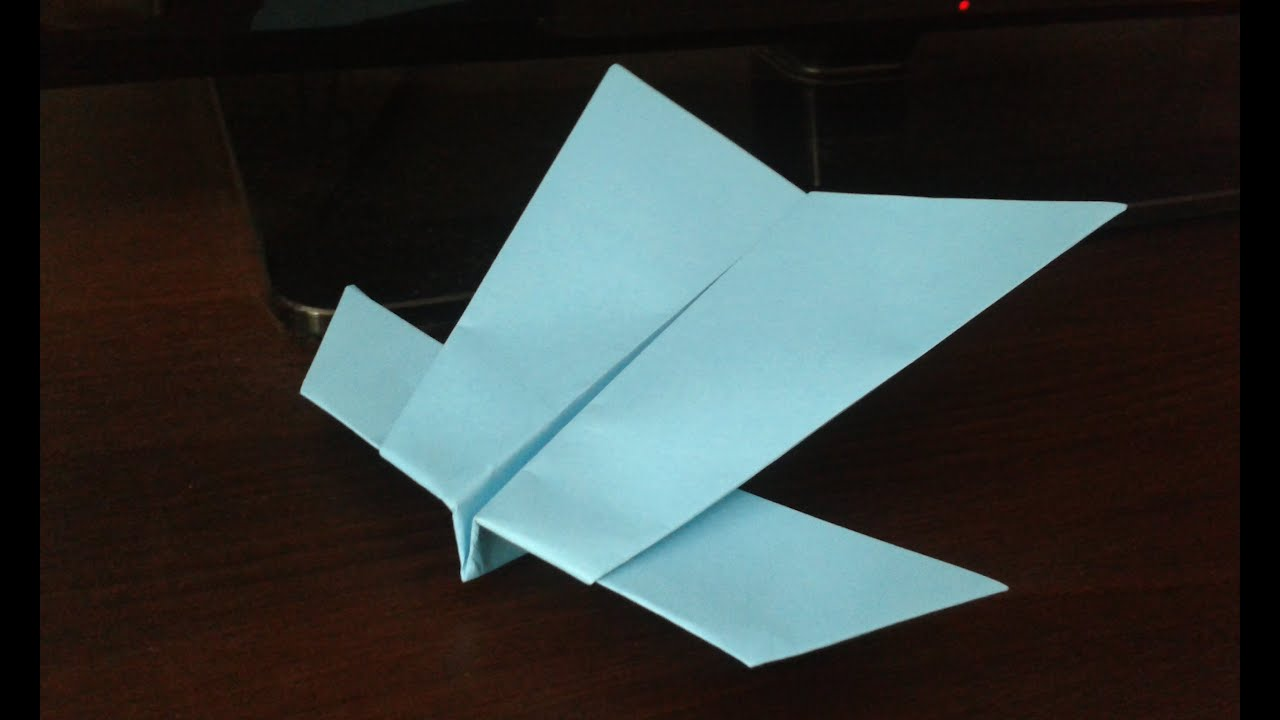 How to make glider paper airplanes