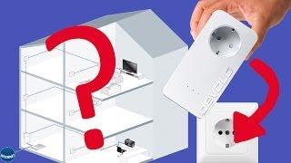 Devolo dLAN 650+ PowerLAN Unboxing, Einrichtung und Test Deutsch [HD]