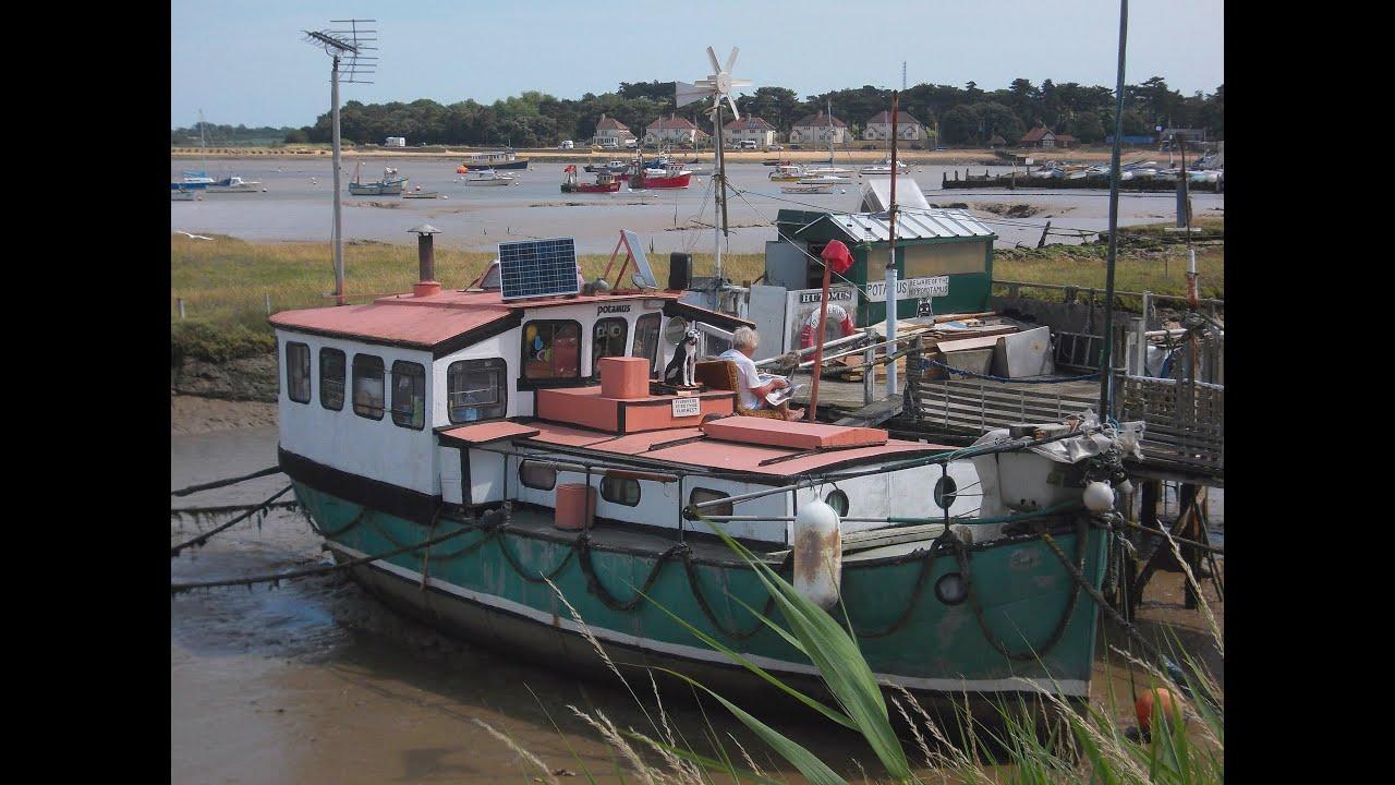 Pictures Of Houseboats Felixstowe Ferry Suffolk Houseboats Youtube