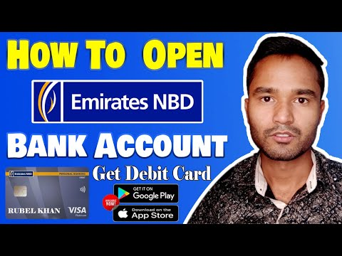 Emirates NBD | Open Bank Account in UAE | Mobile Banking Apps | A to Z | Visa Card | Hindi Tutorial