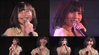 AKB48 15期研究生の「左上ちゃん」こと福岡聖菜ちゃんの13歳の生誕祭ス...