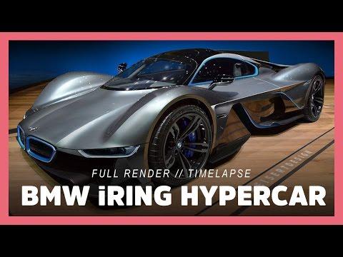 BMW Hypercar Concept (photoshop render / m8 – aston martin valkyrie)