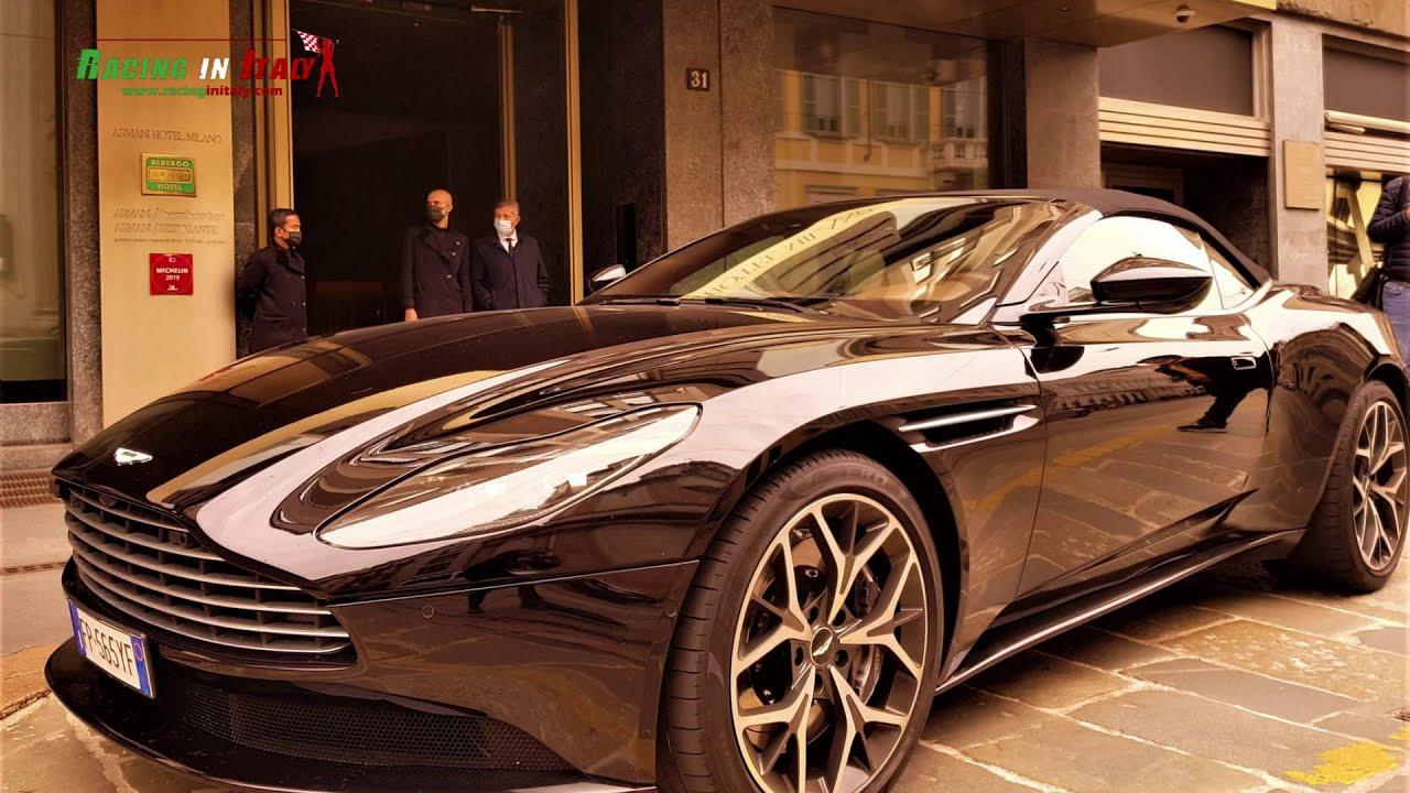 Rent an Aston Martin DB11 Cabrio in Italy | Milan | Garda Lake | Venice | Modena | Bologna