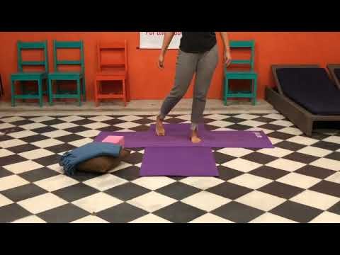 hatha yoga asanas de equilibrio basicas  youtube