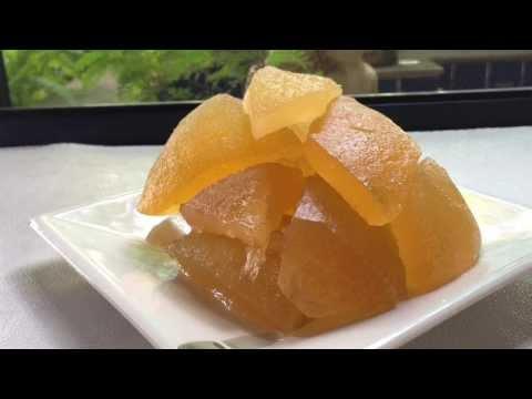 Sweet Pomelo Shell Recipes. เปลือกส้มโอเชื่อม