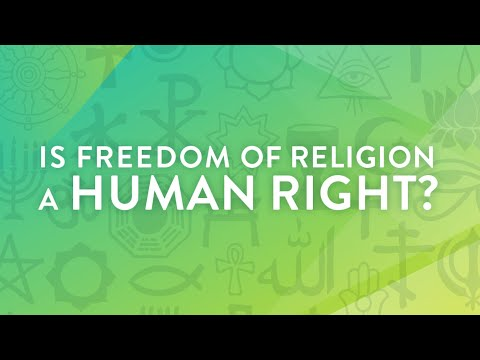 Is religious freedom a human right? - Michael Kellahan and Chase Kuhn.