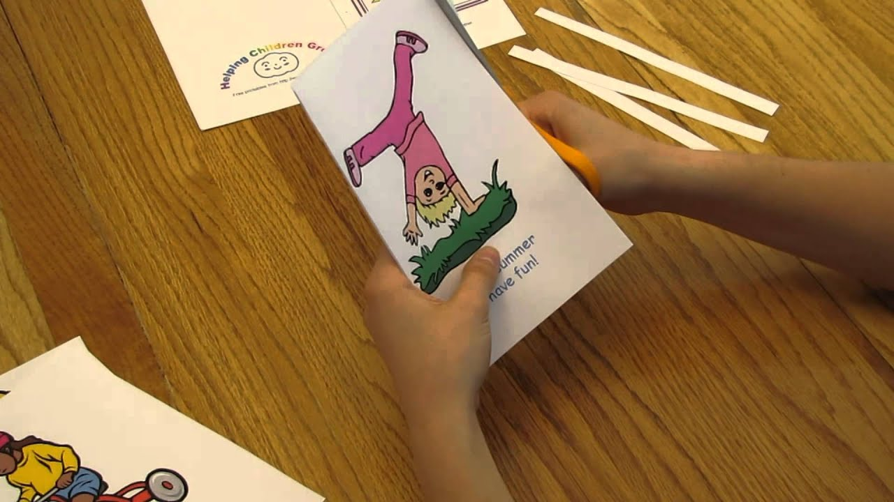 assembling a dltks mini book youtube - Dltk Printable Books