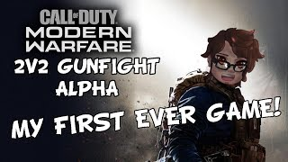 I Think I Did Pretty Good On My First Ever Game! | Call of Duty Modern Warfare 2v2 Alpha Gameplay