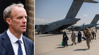 video: 'Almost all' British nationals who want to leave Afghanistan have returned to the UK, says Dominic Raab