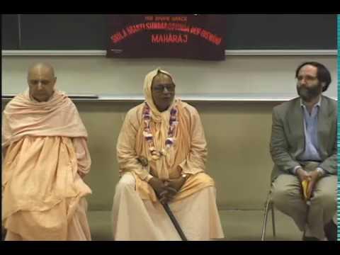 Discourse On The Universals and Particulars of Gaudiya Vaisnavism at UCBerkeley