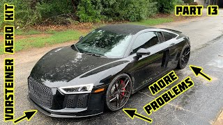 Rebuilding a Wrecked 2018 Audi R8 Part 13