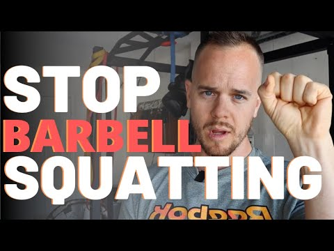 You Can STOP Barbell Squatting Now | Why you don't need barbell squats for stronger legs