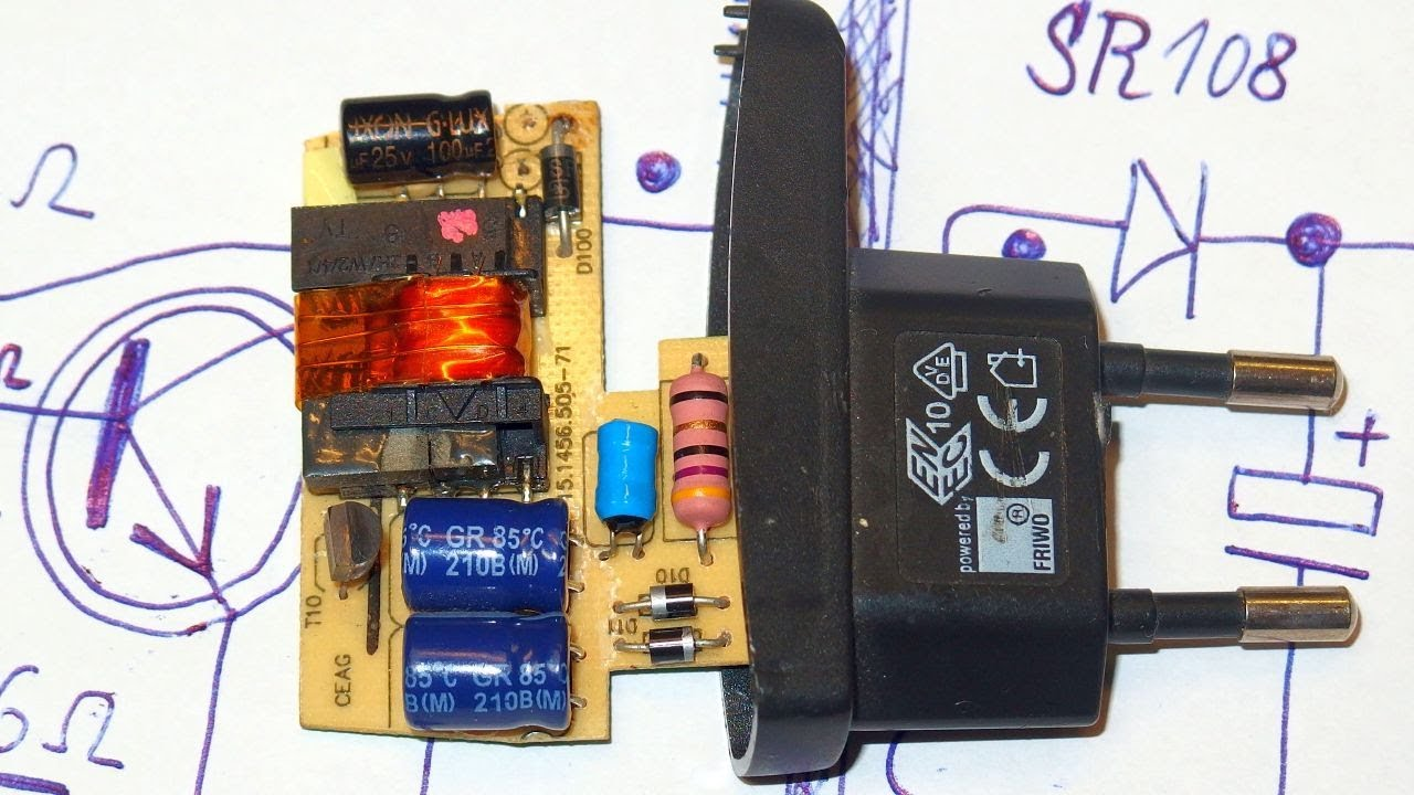 Simple yet safe 5V switching power supply (with schematic