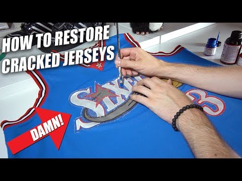 How to Restore Faded & Cracked Jerseys   A Quick Thrift Fix