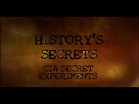 National Geographic - CIA Secret Experiments Documentary