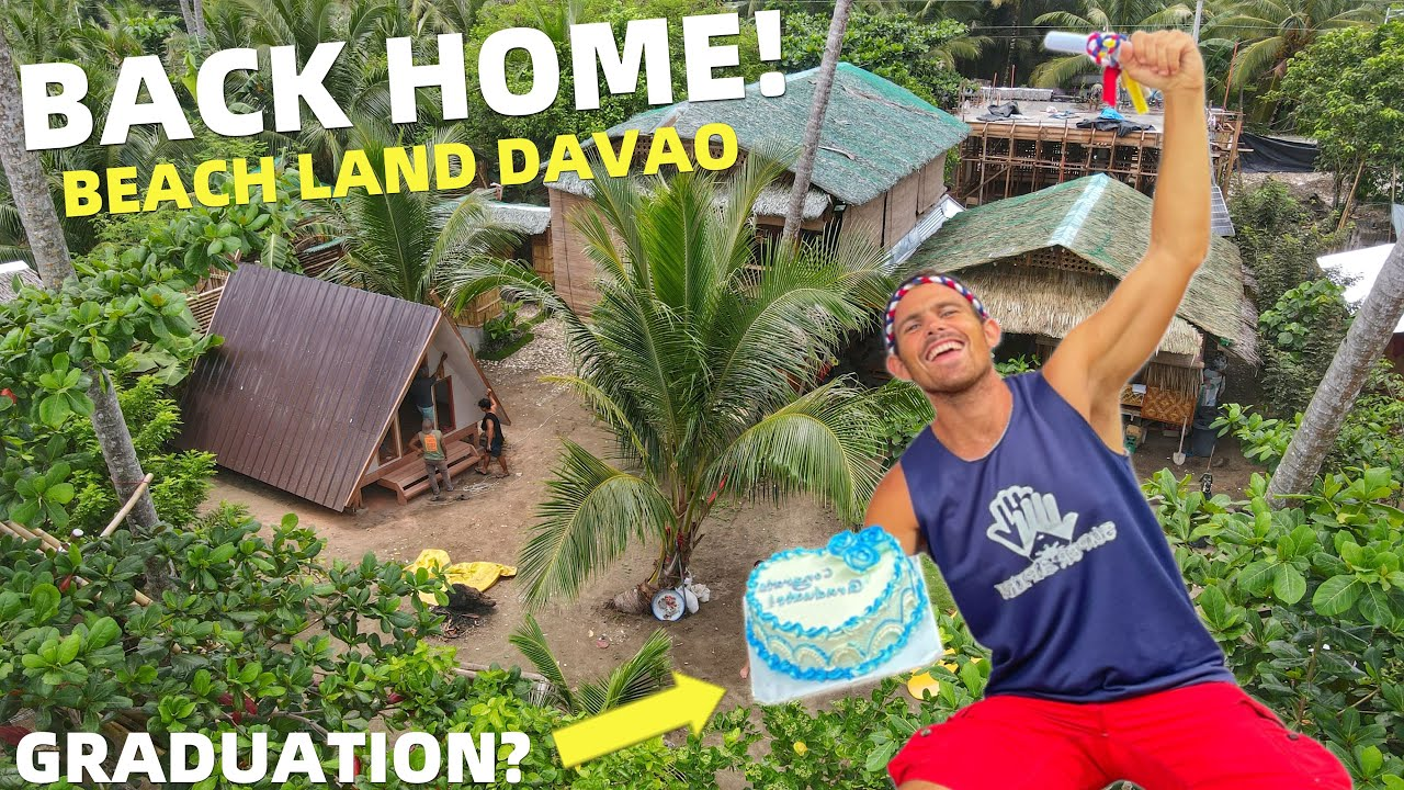 BACK HOME! Philippines Beach House Building And Filipino Barkada Life In Davao!