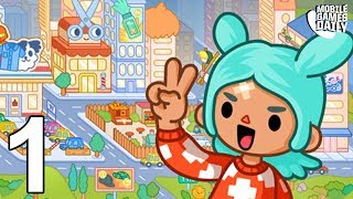 TOCA LIFE WORLD - Gameplay Part 1 (iOS Android) - Games For Kids