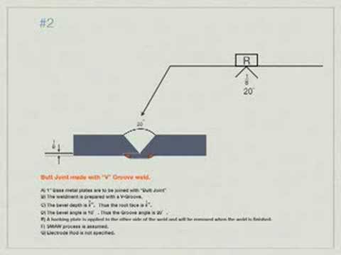 Welding blueprint reading problem 2 youtube for Reading blueprints for dummies