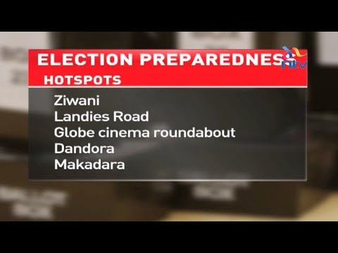 10 election violence prone areas in Nairobi identified
