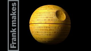 Wood Turned Bamboo Death Star