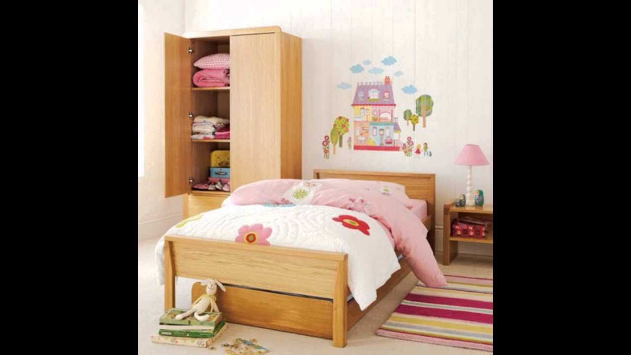 Little Girls Bedrooms Simple Little Girls Bedroom Design Princess Wall Decorating Ideas