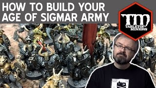 How to Build Your Age of Sigmar Army