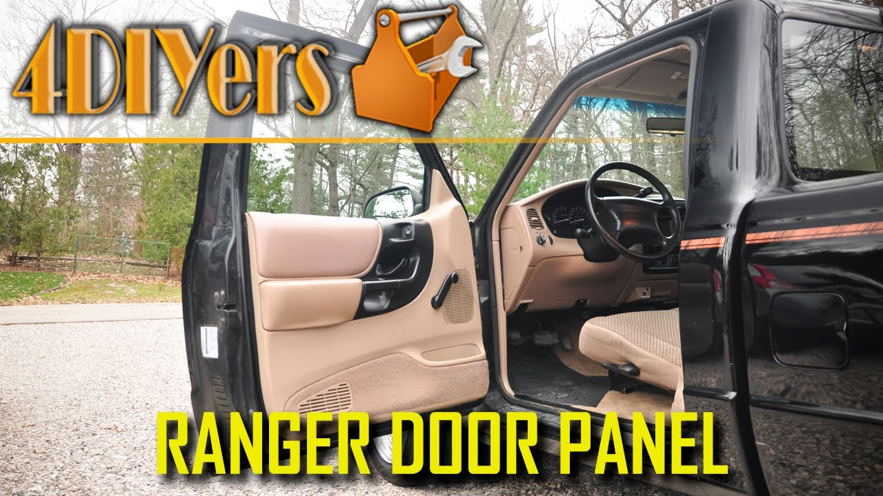How To Remove The Door Panel On A 1995 To 2012 Ford Ranger Youtube