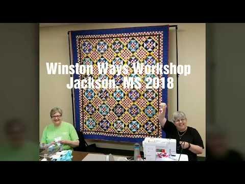 Winston Ways Workshop, Jackson MS 2018