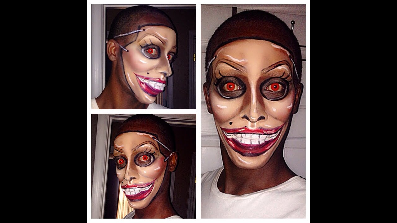 the purge mask inspired makeup youtube - Purge Anarchy Masks For Halloween