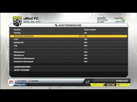 FIFA 13 | Lets Play Ultimate Team #135 - Teambuilding! La Liga BBVA Discounter-Informs![Deutsch]