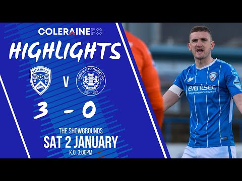 Coleraine Carrick Rangers Goals And Highlights