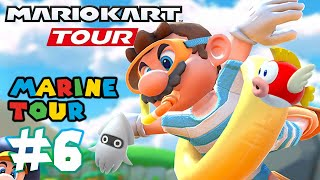 Mario Kart Tour: MARINE TOUR 100% Completed & Coin Rush - Part 6