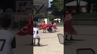 Mexican girl dance 💃🏻 🇲🇽 Long live MEXICO!!!