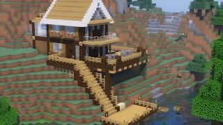 Minecraft Tutorial - Casa no Lago (FINAL) ‹ MANYA › 😜