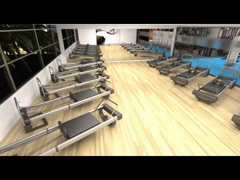 3D Fly-Through South Pacific Health Clubs Chadstone