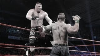 John Cena vs. Brock Lesnar Extreme Rules Match highlights