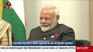 PM Modi holds bilateral meet with President of Russia, Brazil and China