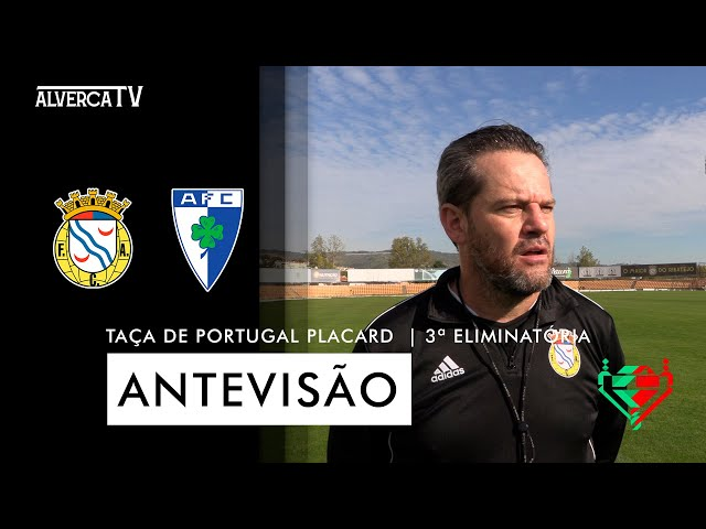 FC Alverca x Anadia FC   Antevisão