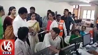 Telangana EC Preparing Voters List | Early Elections | V6 News