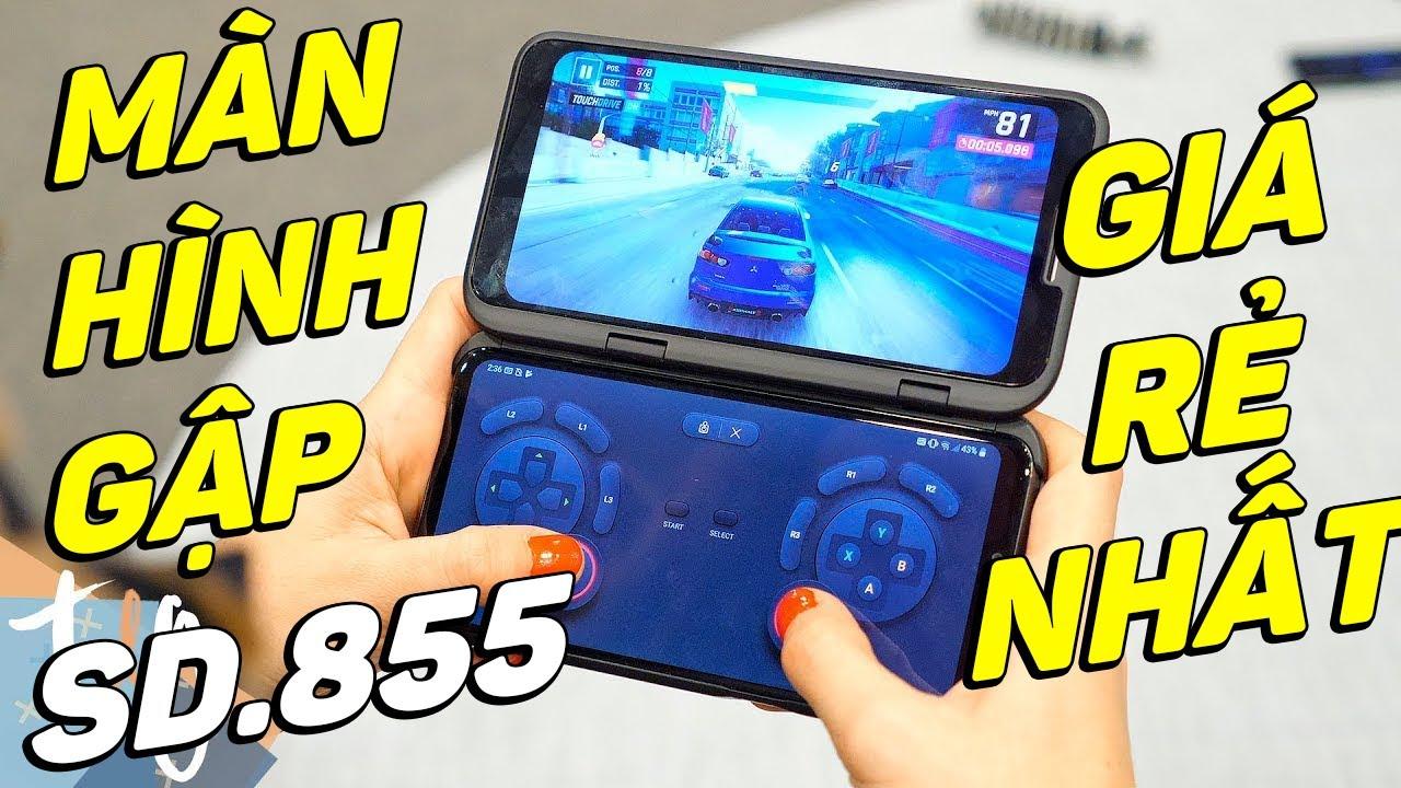 Đánh giá siêu phẩm LG V50 ThinQ: Snap.855 cực mạnh, 5G, màn hình gập GIÁ SỐC!!!