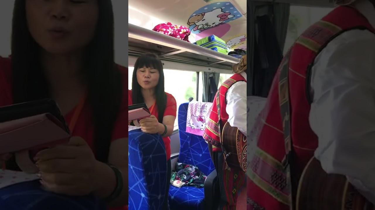 在火車上唱可可托海牧羊人