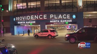 Man, 19, shot at Providence Place; police searching for suspects