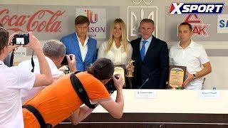 Ольге Харлан вручили десятую статуэтку лучшей спортсменки месяца в Украине
